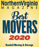Randall Movers Best Movers 2020 Northern Virginia Magazine